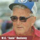 W.C. Junie Donlavey Nascar Pro Set 1991 Card #122