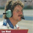 Len Wood Nascar Pro Set 1991 Card #108