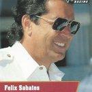 Felix Sabates Nascar Pro Set 1991 Card #88