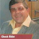Chuck Rider Nascar Pro Set 1991 Card #58