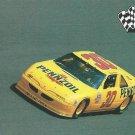 Michael Waltrip 1991 Pennzoil Pro Set Card #60