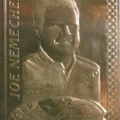 Joe Nemechek 1998 Danbury Mint 22k Gold Nascar Card #16