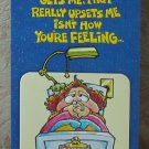 MARK 1 Inc. 1970's Vintage Defect Greeting Card Style 155Z Get Well Soon