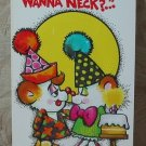 MARK 1 Inc. 1977 Vintage Defect Greeting Card Style 35A Happy Birthday