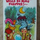 MARK 1 Inc. 1977 Vintage Defect Greeting Card Style 76 Thinking Of You