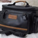 QUANTUM INTERNATIONAL Black Camera Bag Carry Case Used