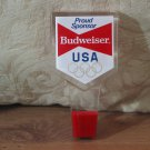 BUDWEISER USA Olympic Proud Sponsor Keg Beer Tap Handle