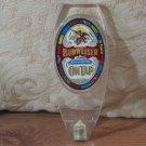BUDWEISER On Tap Keg Beer Festive Glitter Tap Handle