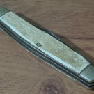 IMPERIAL Body Style Delrim Handle 3 Blade Vintage Pocket Knife No Tang Stamp