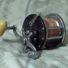 PENN No 27 Monofil Vintage Open Fishing Reel Yellow  Knob