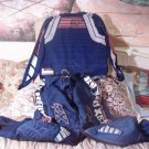 FX MOTOCROSS UNIFORM Motorcycle Set Pants Shirt Size 5 and 6 Blue Used