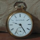 Elgin National Watch Company 1894 Pocket Watch #5424446 Broken For Parts