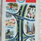 ROAD MAP 1969 Esso Interstate Highways Of The Eastern United States