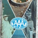 ROAD MAP 1967 Triple A New York City Street Map AAA
