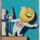 ROAD MAP 1961 Esso Interstate Highways Thru North And South Carolina