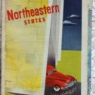 ROAD MAP 1948 Triple A Routes Of 21 States North Eastern United States AAA