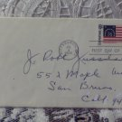 First Day Issue Cover Stamp Bennington Flag 1968 6c