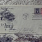 First Day Issue Cover Stamp U.S. Airmail 13c Stamp 1961