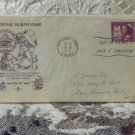 First Day Issue Cover Stamp National Health Stamp Canada 1958 5c