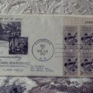 First Day Issue Cover Stamp Flushing Remonstrance 1957 3c