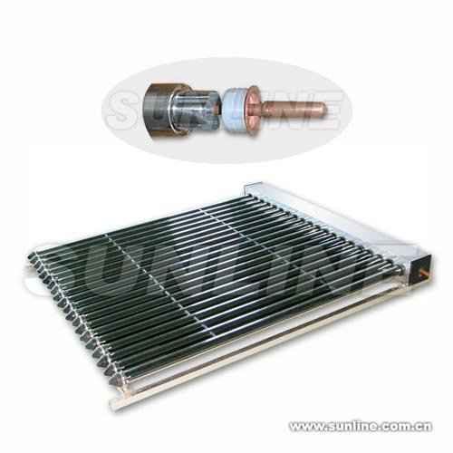 All-glass Evacuated Tubular Solar Collector with Heat Pipe