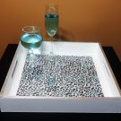 Silver Tiger Luxury 15x15 Serving Tray High Gloss Resin Coat