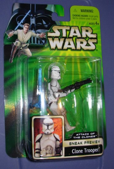 Star Wars AOTC Sneak Preview Clone Trooper New