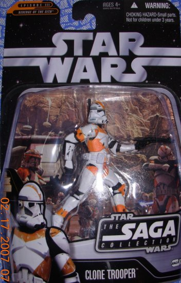 Star Wars The Saga Collection Clone Trooper