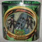 LOTR  Dual Package  Frodo & Sam W/Boat  Action Figures MIP