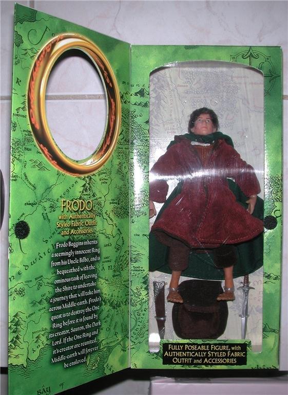 """LOTR FOTR 8"""" Frodo  Action Figure MIP"""
