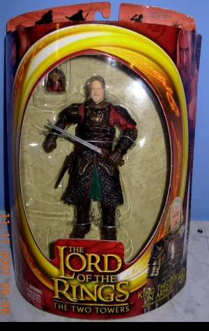 LOTR King Theoden in Armour NEW IN BOX