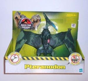 Jurassic Park Jungle Green Phteranadon huge Jurassic Bird w/Dino Roar