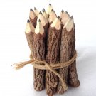 Rustic Twig Black Pencils 3 inch Set of 12 pcs Tree Branch Graphite Pencils Handmade Black Pencils