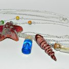 Down by the Seaside Necklace,Bottle Necklace