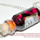 Zombie Apocalypse Survival Kit Necklace,Bottle Necklace