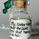 Wicked Witch's Fate, Bottle Necklace