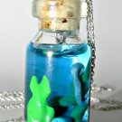 Here Fishy, Fishy, Fishy! Bottle Necklace
