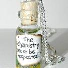 Chemistry Bottle Necklace