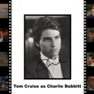 Tom Cruise autographed Rain Man matted display Framed