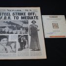 Cinderella Man prop Newspaper with Craig Bierko as Max Baer