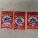 Lot of 5 1988 Major League Baseball Player & Trivia Cards by Score
