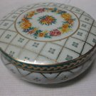 Vintage Daher Decorated Ware English Round Tin Box, Made In England