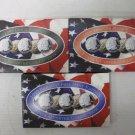 1999 3 Sets STATE QUARTER COLLECTION, COA, Gold, Denver, Philadelphia Sets