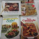 4 Cookbooks, Better Homes & Gardens, Good Housekeeping, Salad, Casserole