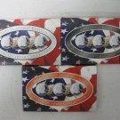 2000 3 Sets STATE QUARTER COLLECTION, COA, Gold, Platinum, Denver Edition Sets