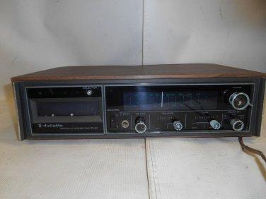 Vintage Topp Juliette 8TR-11XA 8-Track Stereo Multiplex Japan Power Tested