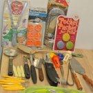 Lot 35 Pc Vintage Retro Kitchen Tools, Utensils, EKCO, Batman, Anchor Hocking