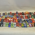 Lot 86 Used Retro Die Cast Toy Cars, Hotwheels, Maisto 1:64 Scale