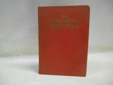 Children's Story Bible Harold Begbie Undated Illustrated Hardcover Grolier Socie
