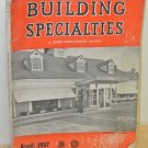 Vintage 1957 Building Specialties & Home Improvement Dealers Contractors Catalog